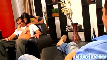 rebeca linares - threesome with anal.