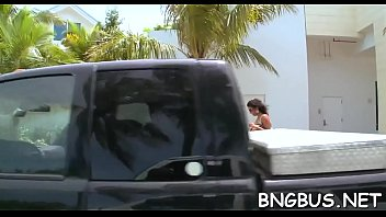 free gang bang bus porn