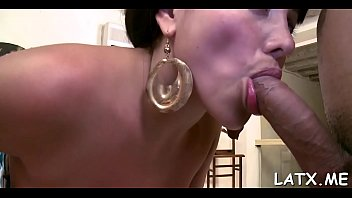 latin chick gets drilled after playing.