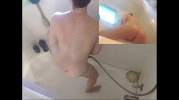 showering milf on webcam - more.