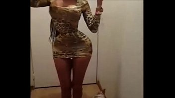 colombian babe dacing before sex