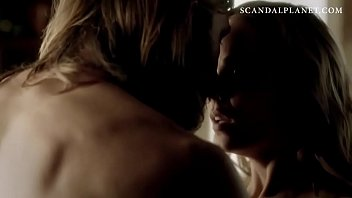 laura vandervoort making out in sex scene from.