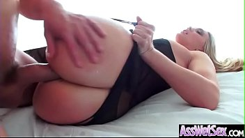 anal hardcore bang with big ass horny girl.