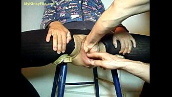 mykinkyflix.com - old granny gets fist fucked in.