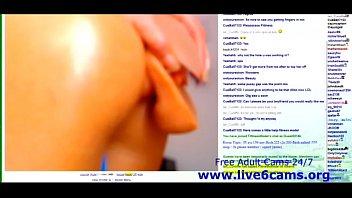 fittnes model solo mastubate on livestream.