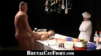 sluts catfight and dirty fuck in.