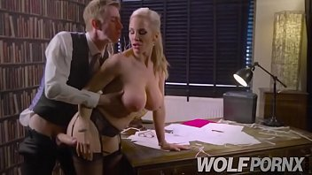 horny secretary does her job wrong but she.