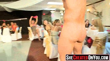 12 cheating cock hungry sluts takes a load.