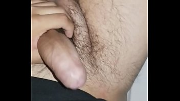 jacking off my thick latino cock