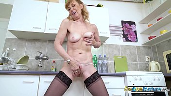 europemature older mature lady solo striptease