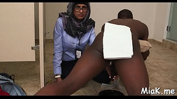 stand fucking of a sexy arab.