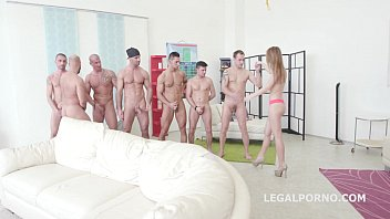 kira thorn first 7on1 double anal gangbang -.