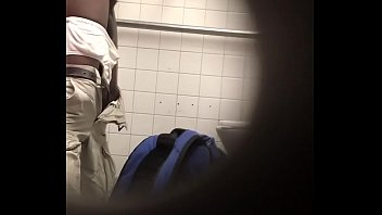spying old hung black man at.