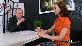 nice schoolgirl was seduced and pounded by her.