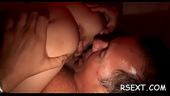 mature hooker sucks dick and gets it hard.