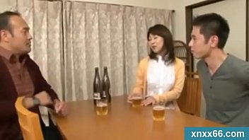 japanese wife sucks on a younger.