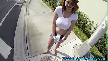 real teen fucks outdoors