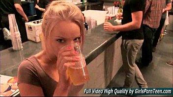 staci blonde amateur solo public flashing.