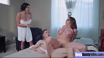 hardcore intercorse with big juggs hot sexy wife.