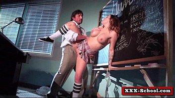 big tit slut gets pounded by school teacher 22