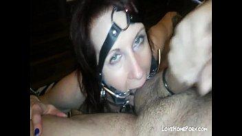 worthless slave girl deepthroats my dick