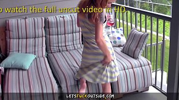 let'_s fuck outside - banging my petite girlfriend.