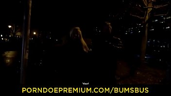 bums bus - wild german blonde girl fit.