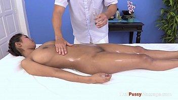 massaging the nicest pair of thai.