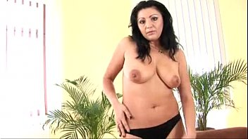 curvy india rubs her pussy
