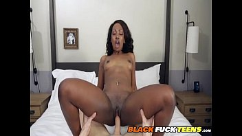 black girl pounded by white man
