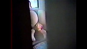 spying my mom masturbating through window of court yard