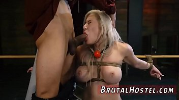 breast bondage and bdsm rimming big-breasted blondie hotty.