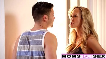 momsteachsex - hot yoga mom fucks son and.