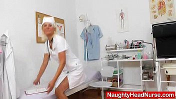 cute wife nurse plays plus the.
