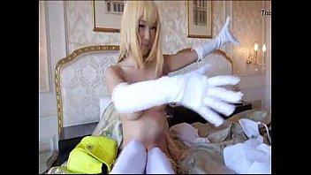 pregount japan girl shokuho misaki playing.