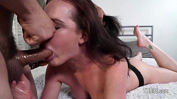 1-this hooker loves being throated and.