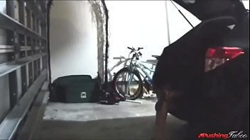 son fucks own mom in garage while dad.