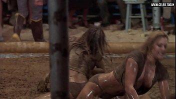 vicki frederick - naked wrestling, big boobs, lesbian.