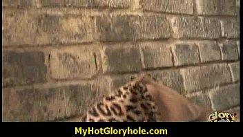 gloryhole black babe honey sucks cock.