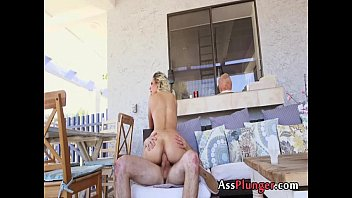 anal destruction for the surprising babe