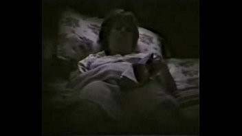my horny mum fingering on bed reading a.