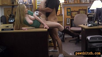 kinky amateur blonde babe gets banged for a.