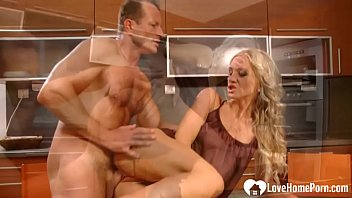 blonde and her husband are fucking.