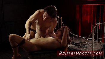 bondage gangbang ass licking and intense orgasm multiple.