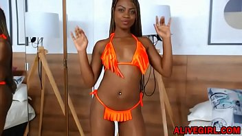 black beauty shaina jones teases you by her.