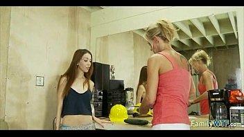 mother teaching daughter 299