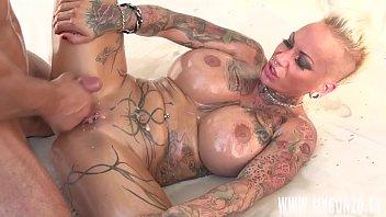 german tattoo model and porn star kitty core.