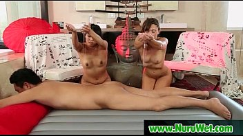 nuru massage from lovely asian milf.
