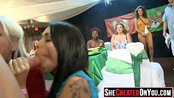 22 cheating cock hungry sluts takes a load.