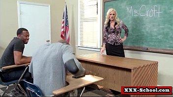 sexy bigtit slut fucked at school.